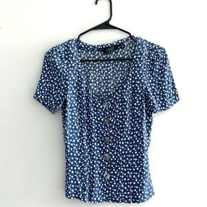 & Other Stories Patterned Top
